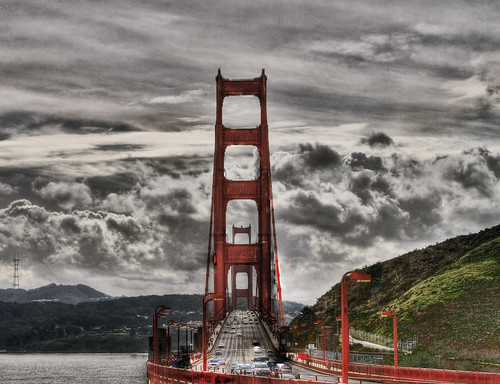 golden gate en HDR