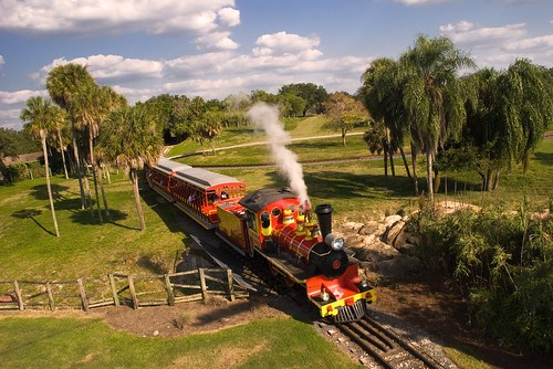 Busch Gardens Train