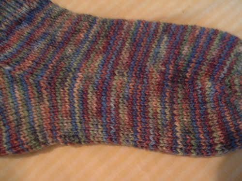 My first sock - close up