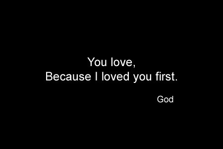 God Series 20 - Love First