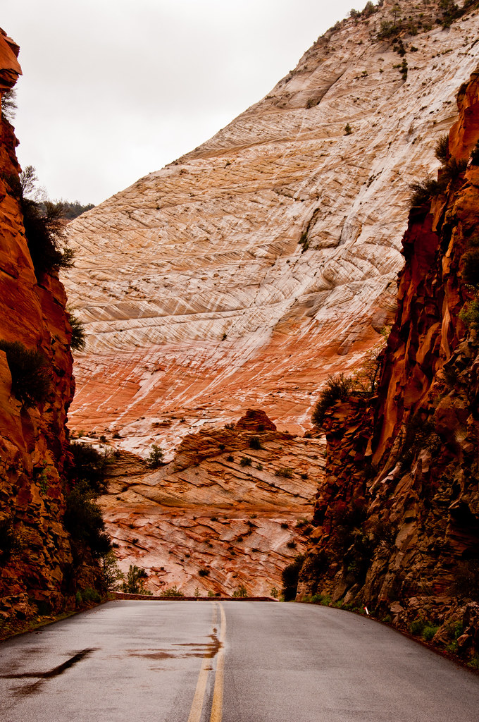Dune cross bedding in Zion