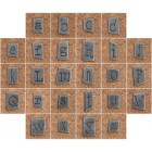 Pewter Ransom Font Letters 2