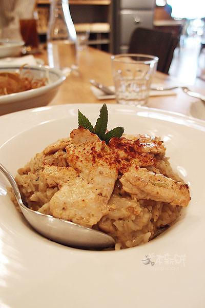 優格野菇雞肉燉飯