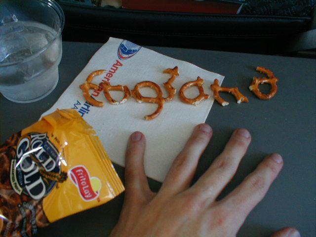 England pretzels