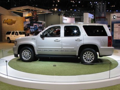 Green car of the year Chevrolet Tahoe Hybrid © georgnerd