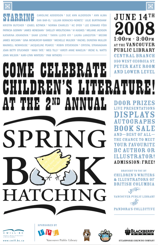 Spring Book Hatching 2008