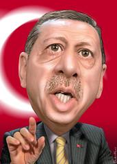 Recep Tayyip Erdogan - Caricature