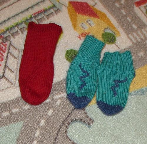 dragon and snake socks (2)