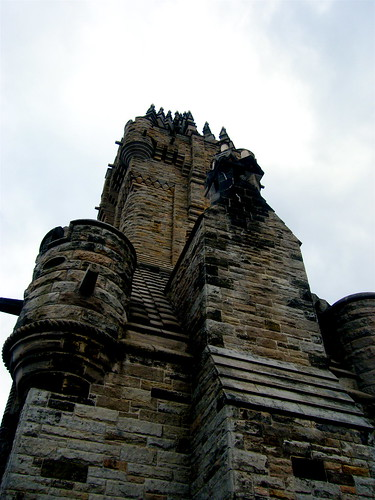 Wallace Monument From Beneath