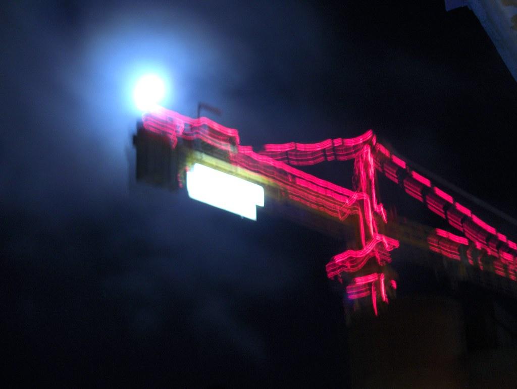 Moon & Crane