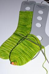 Firestarter sock #2