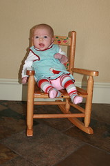 Rocking Chair - 2 Months Old