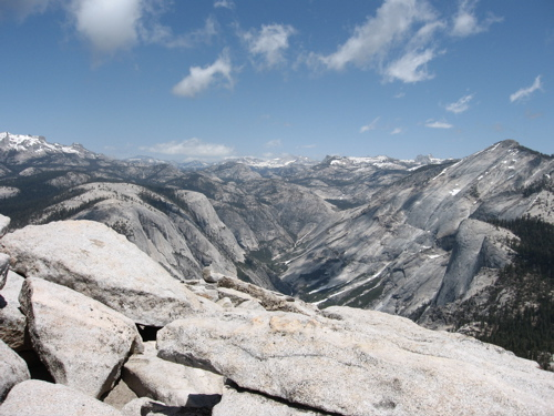 Yes, I climbed half dome, cables and all.