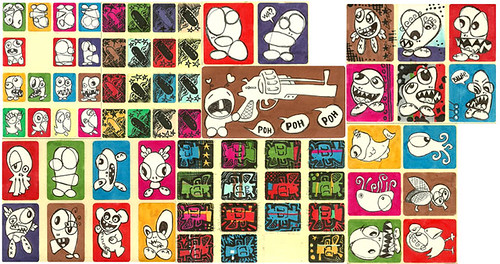 Stickers by Ken Wolff