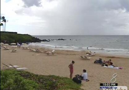 the beach where it happened
