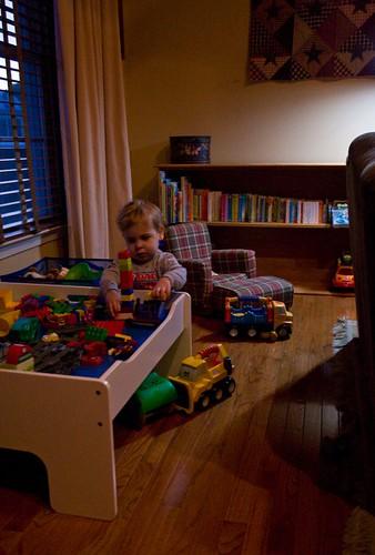 Family Room - The Hidden Toys