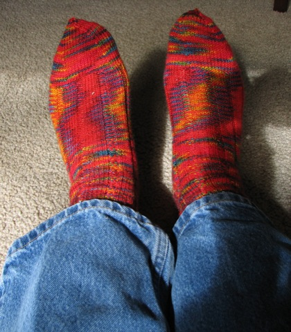 Chili Pepper Socks