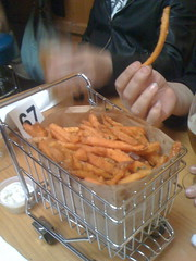 "Sweet Potato Fries ""a la cart"""