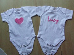 Vests/Onesies for Baby Lucy
