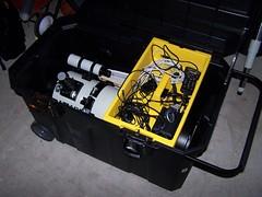 The Telescope Box Fully Loaded
