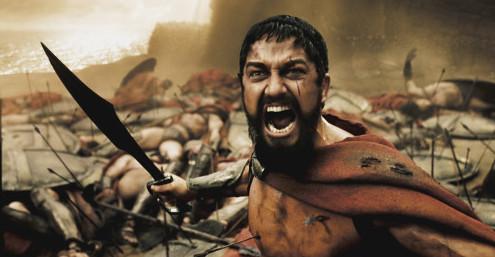 Leonidas en 300