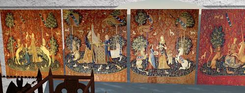 Sofia's unicorn tapestries