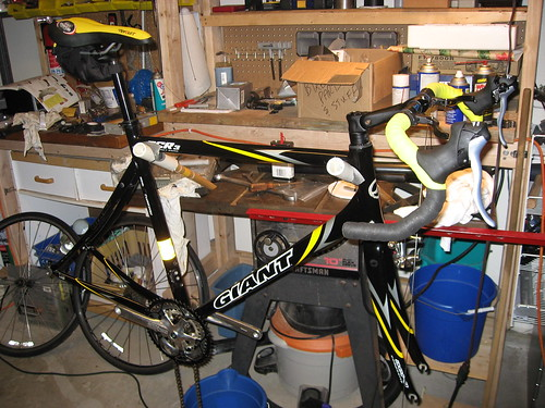 2004 Giant OCR 3 rebuild