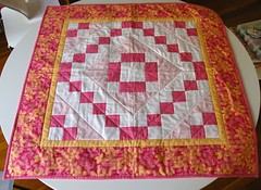 Finished quilt! Yay!