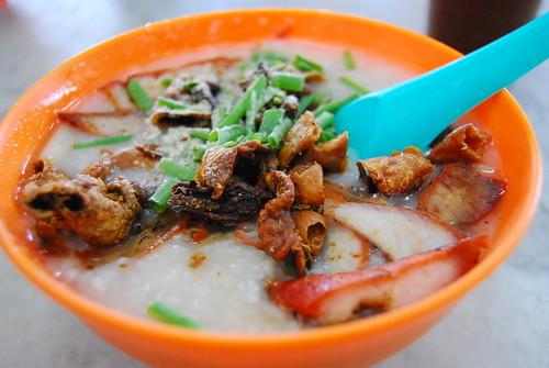 Warm porridge