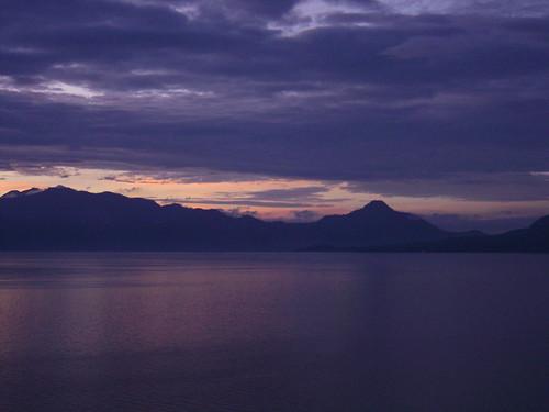 Δειλινό στο Atitlan