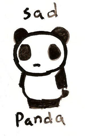 The Sad Panda