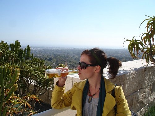 Boozin' at the Getty