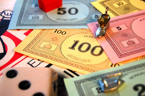 If teams were using Monopoly money, decisions would be so much easier (mtsofan/Flickr)
