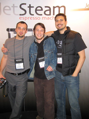 Corey, Silas and Edwin