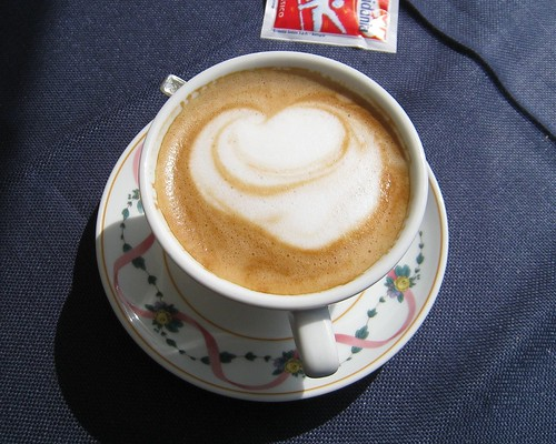 My cappuccino <3's me!