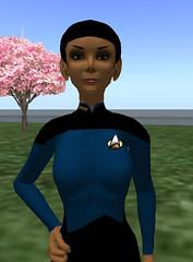 Floria's Star Trek Outfit