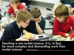 Teaching is not rocket science