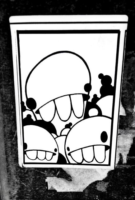 Grafitti Blob sticker
