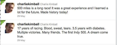 charlie kimball tweets
