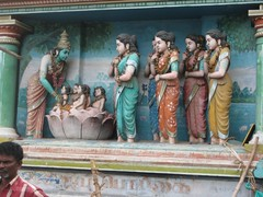Birth of Arumugan at Saravanapoihai