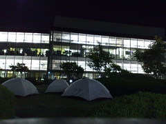 Google Tents at Where Camp