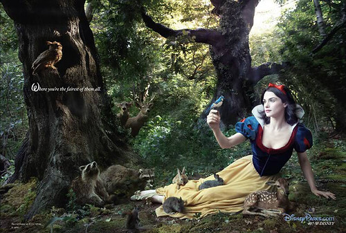 Annie Leibovitz's Disney Dream Portrait Series - Snow White