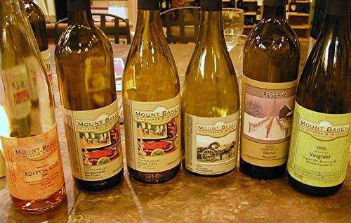 Mount Baker wines