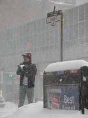 Tourist on yonge street