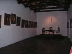 Salon de la jura de la indepedencia. Le mobiler est d'origine. Tout le reste fut transferé au congres de Buenos Aires. Sur les cotés vous notez tous les acteurs de la premiere assemblée.