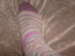 Carnivale du Printemps Socks - Instep detail