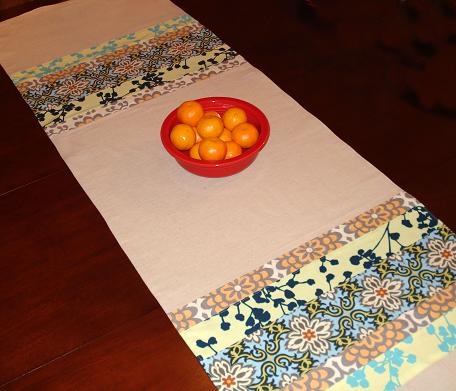 Table runner for my sister.