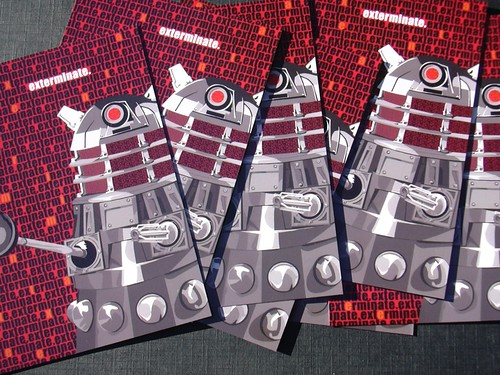 Dalek postcards