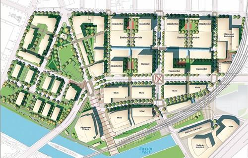 Plan view, Village Griffintown