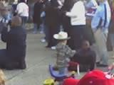Baby w/ cowboy hat